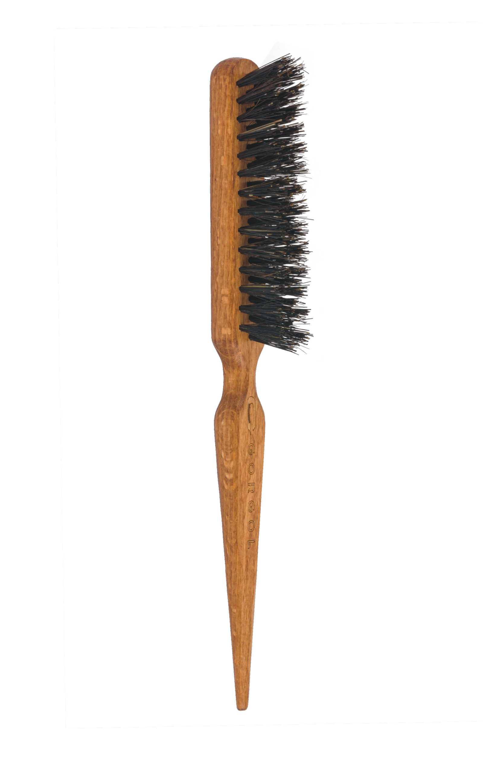 Szczotka z włosiem z dzika 3 rzędy