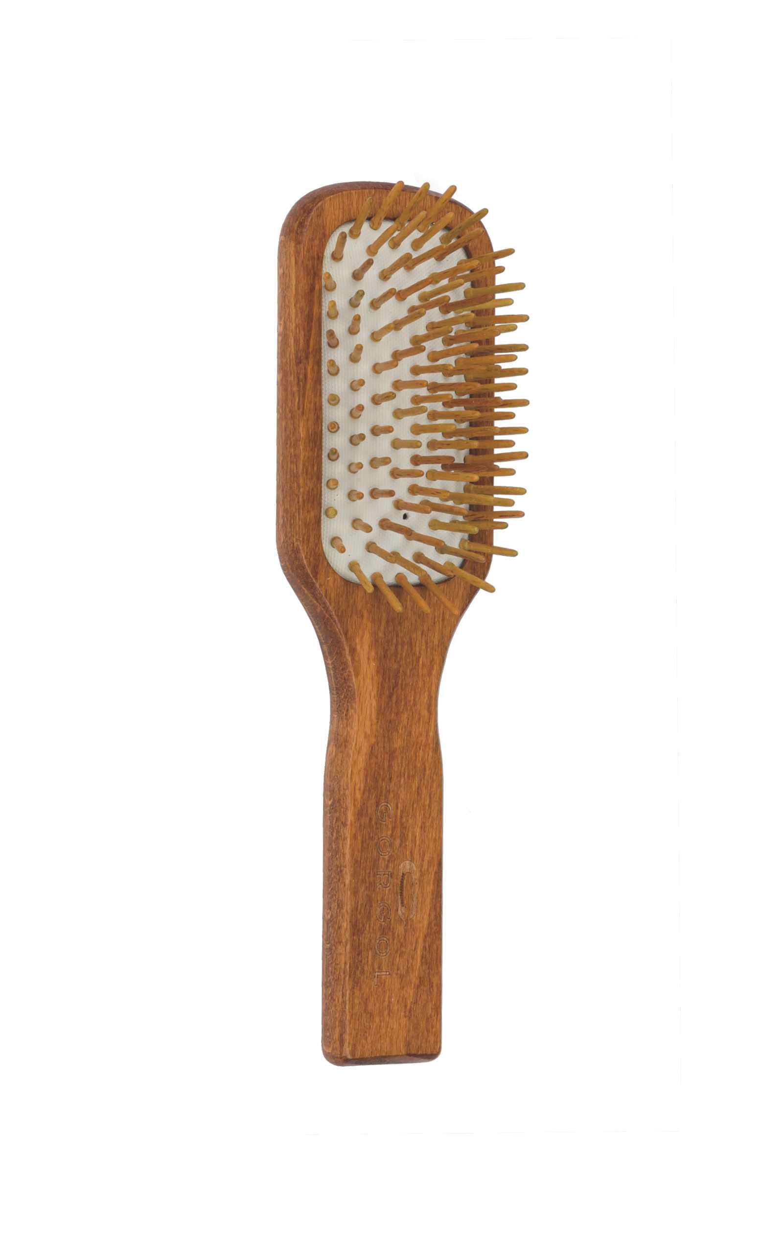 Szczotka z drewnianą szpilką