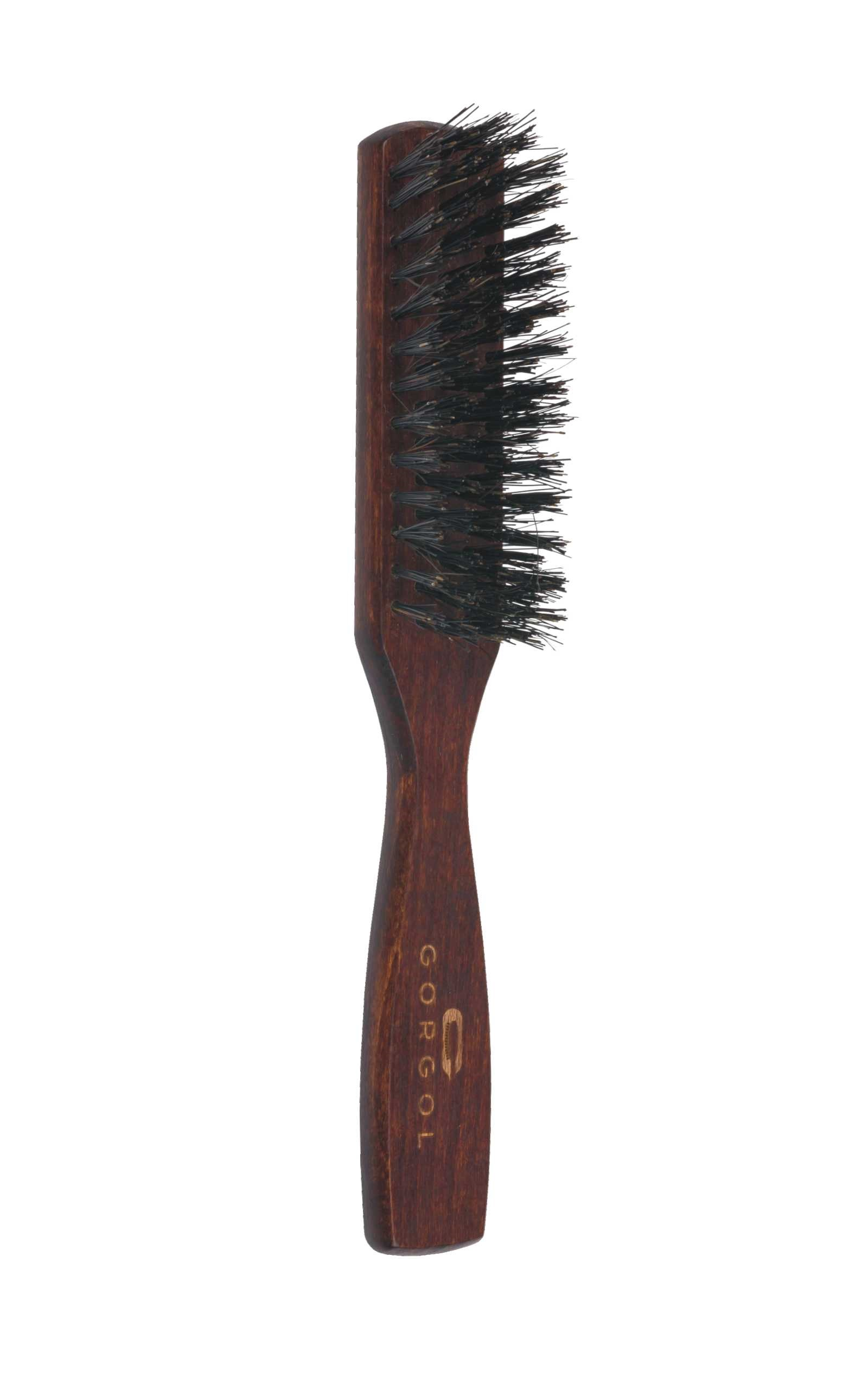 Szczotka do brody i wąsów - ciemna