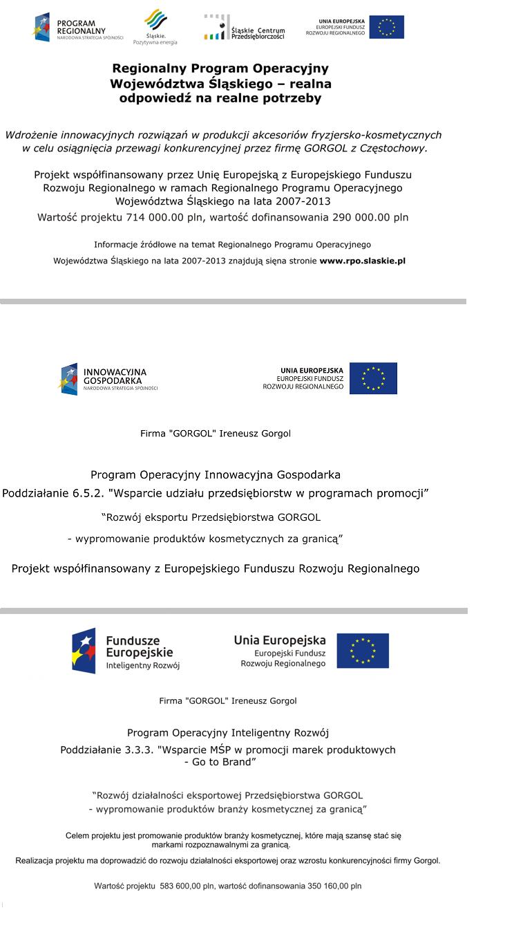 Dotacje UE Gorgol